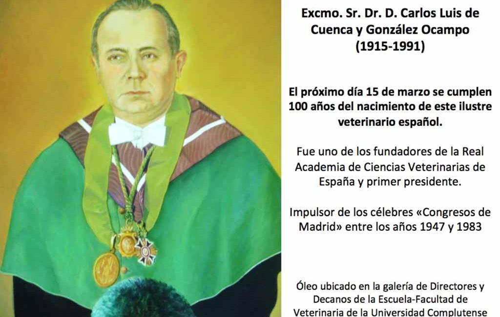 Centenario del Dr. D. Carlos Luis de Cuenca (1915-2015)