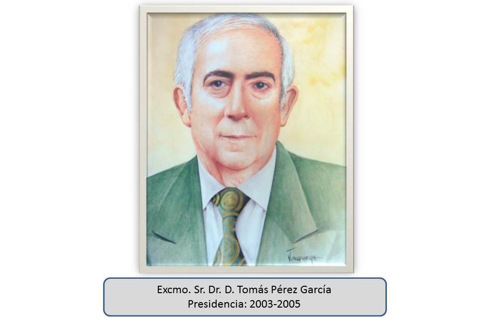 Excmo. Sr. Dr. D. Tomás Pérez García