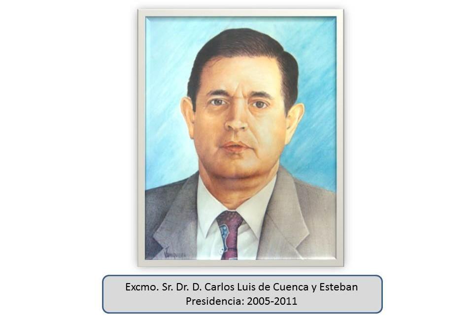 Excmo. Sr. Dr. D. Carlos Luis de Cuenca y Esteban