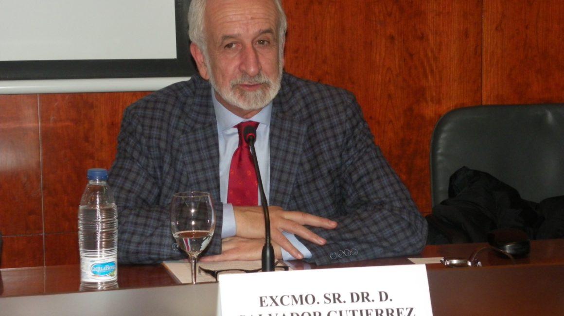 Animales Cervantinos: El Dr. Salvador Gutiérrez Ordóñez, Académico de Número de la RAE, interviene en la RACVE