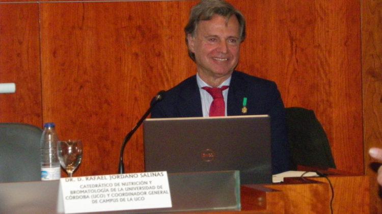 El Dr. Jordano Salinas interviene en la Real Academia con motivo del Centenario del Nacimiento de Manolete (1917-2017)
