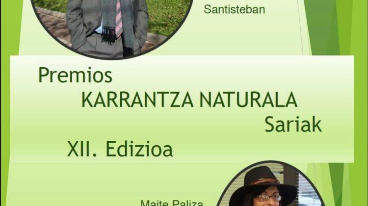 El Dr. Francisco Dehesa Santisteban recibe el premio Karrantza Naturala