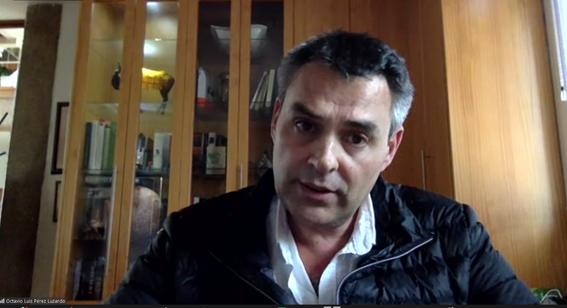 """«Biomarcadores de contaminación marina. Enfoque """"One Health""""» El Dr. Octavio Luis Pérez Luzardo interviene en la sede de la Real Academia de Ciencias Veterinarias de España"""