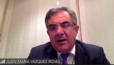 Videoconferencia del Excmo  Sr.  Dr.  D.  Juan María Vázquez Rojas. Veterinaria 4.0