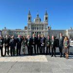 La RACVE presente en el homenaje de Estado a las víctimas del coronavirus y reconocimiento al personal sanitario