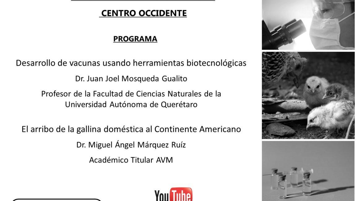 Academia Mexicana de Veterinaria, A.C., Sesión de la Sección Regional Centro Occidente