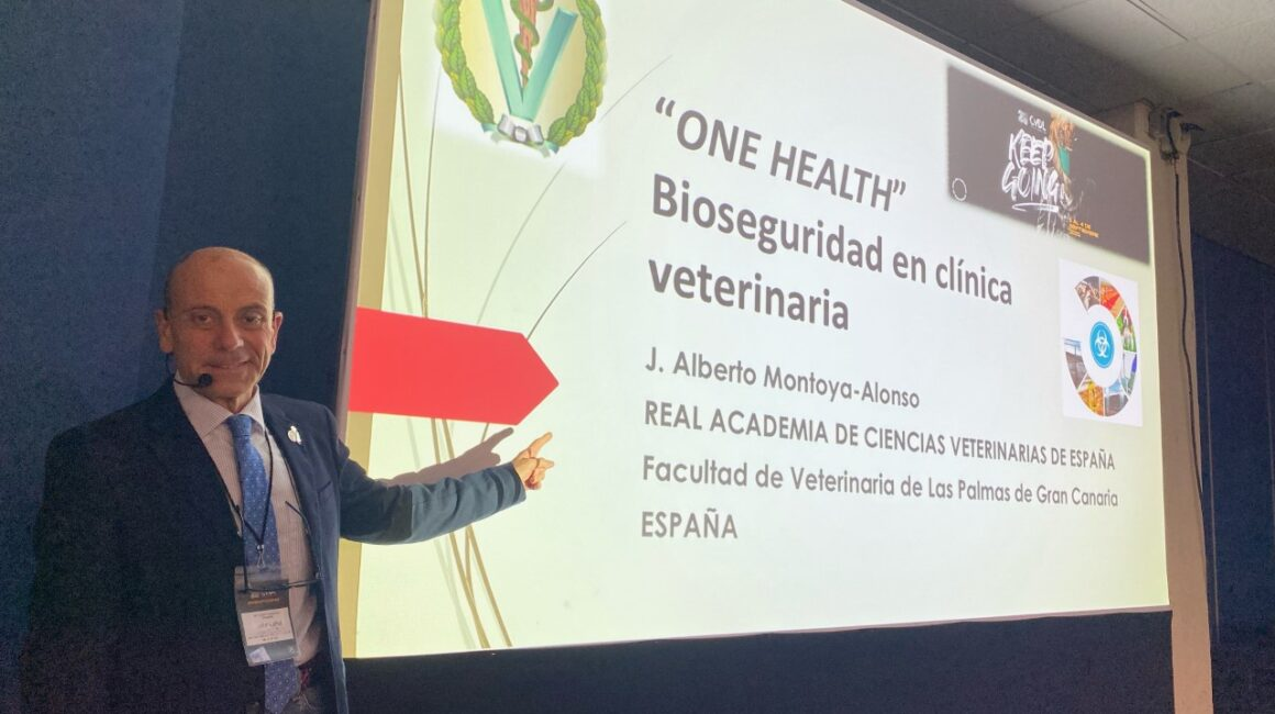 El Excmo. Sr. Dr. Alberto Montoya Alonso interviene en el 25 Congreso Internacional de León, en Guanajuato (México), sobre el concepto One health