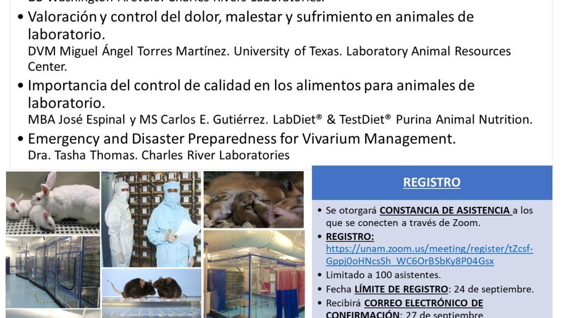 """Academia Mexicana de Veterinaria, A.C., Sesión """"Actualización en el uso de Biomodelos Animales"""""""